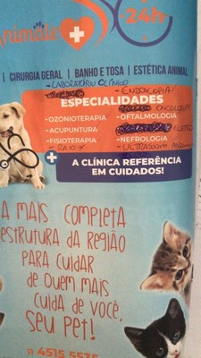 Onde Encontro Clínica Veterinária Dermatologia Santo André - Clínica Veterinária 24 Horas